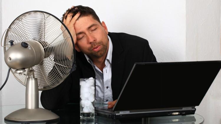 malattie da raffreddamento in estate