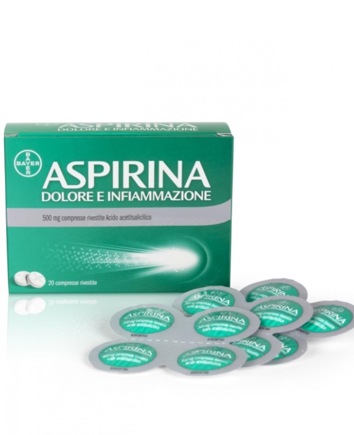 aspirina dolore e infiammazione