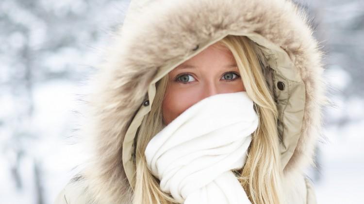 pelle protetta dal freddo
