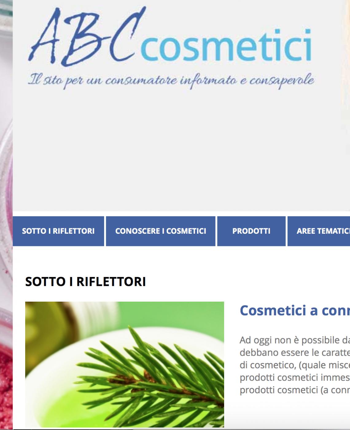 sito Abc cosmetici