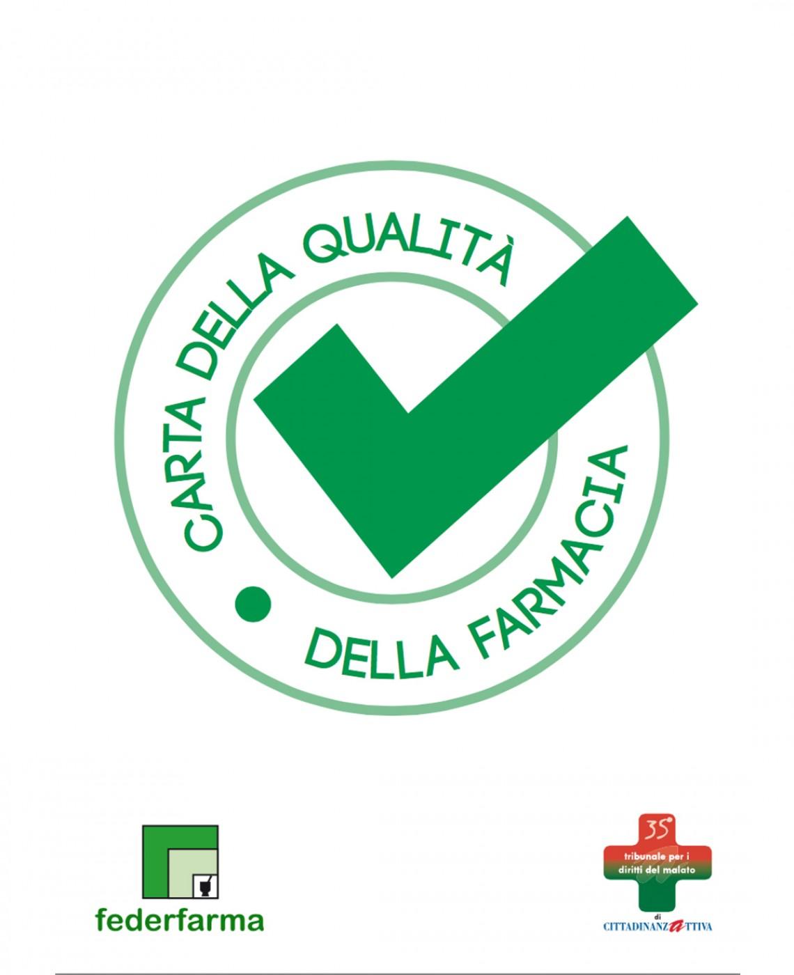 carta della qualità della farmacia