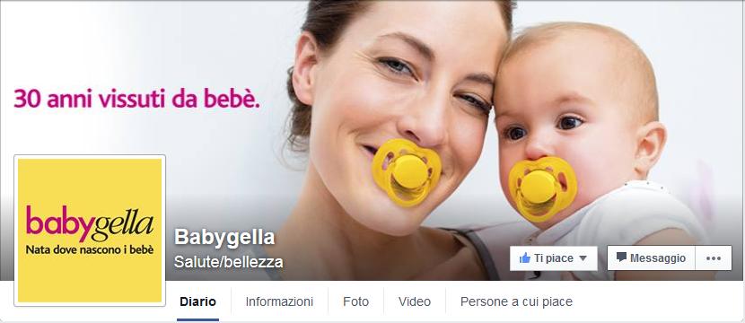 Babygella su facebook