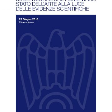 Review scientifica sugli integratori alimentari
