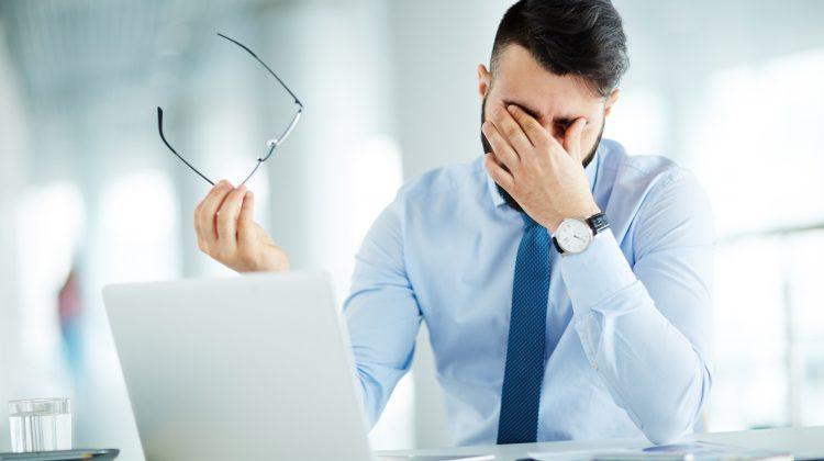 discomfort oculare computer