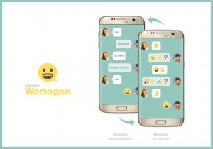 Samsung Wemogee Schermate