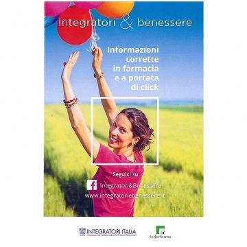 integratori in farmacia - folder