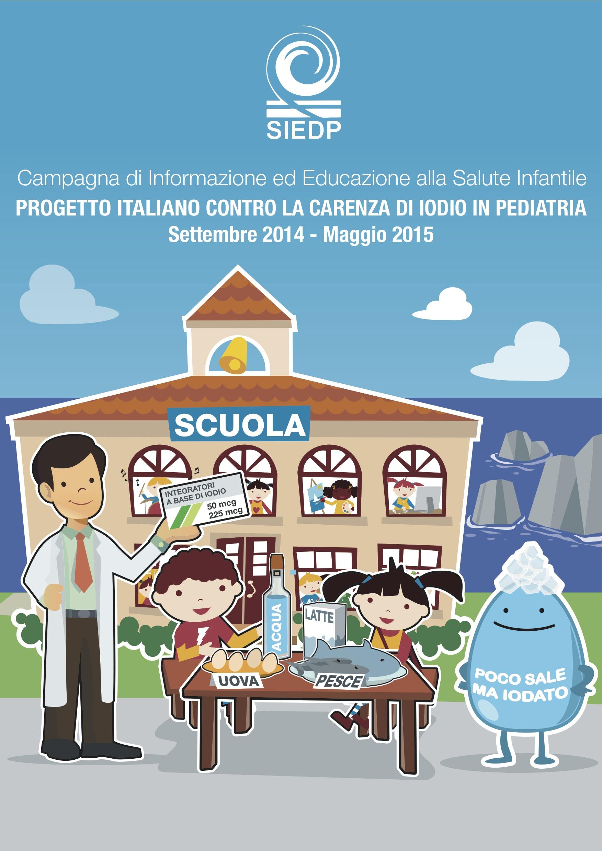 Progetto italiano contro la carenza di iodio