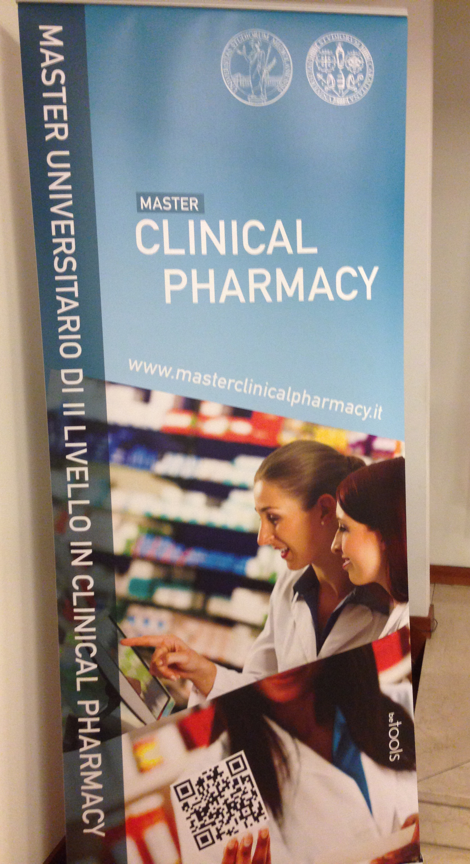 apertura del Master in Clinical Pharmacy