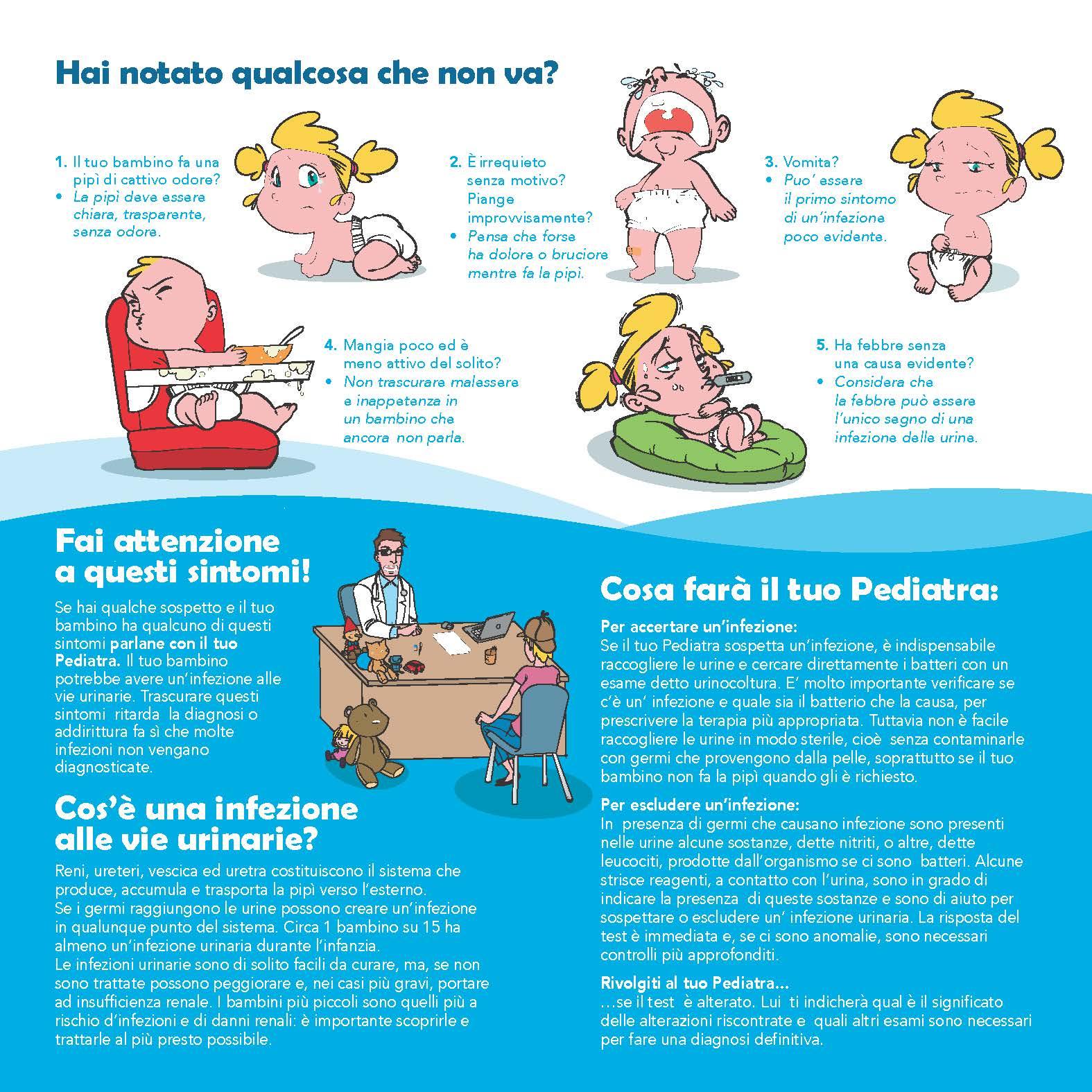 infezioni urinarie nei bambini