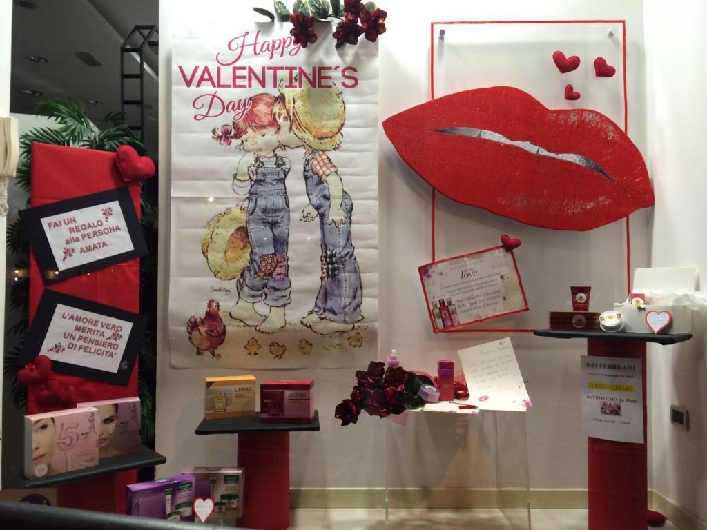 San Valentino in vetrina