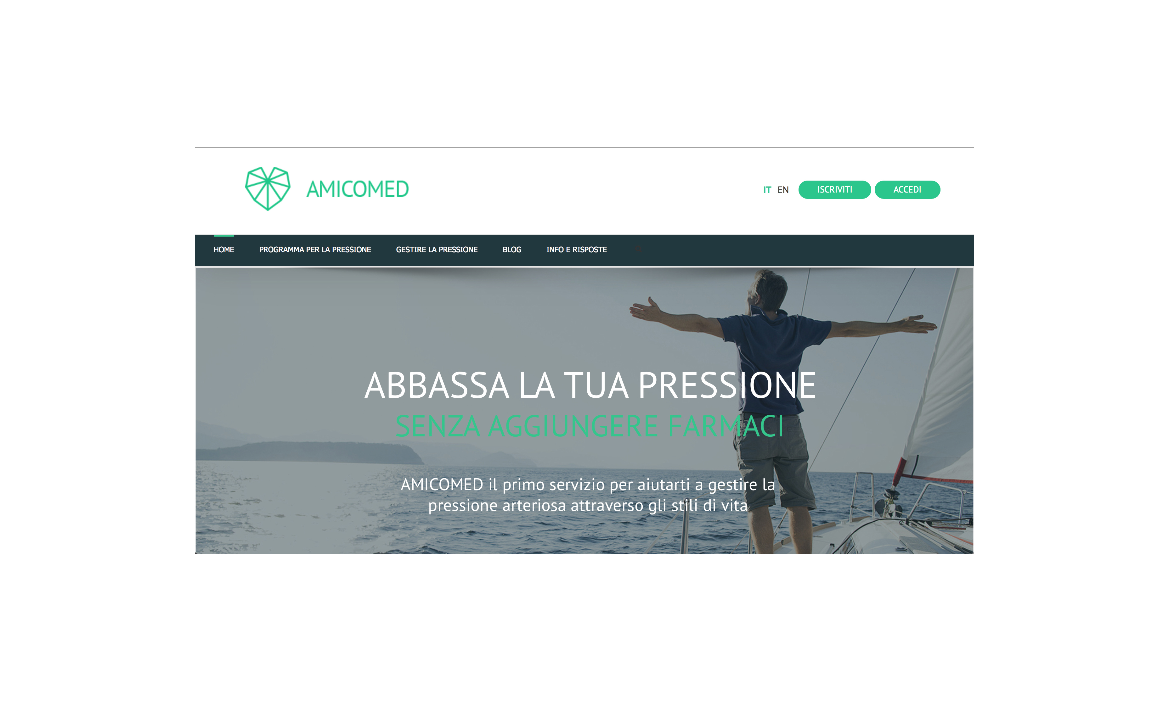 amicomed home page