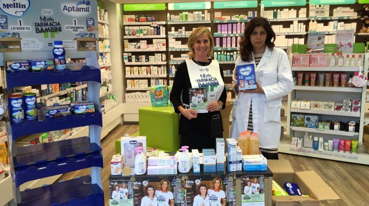 volontari per un giorno In farmacia per i bambini