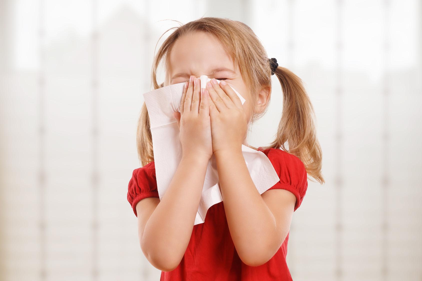 resveratrolo contro il raffreddore dei bambini