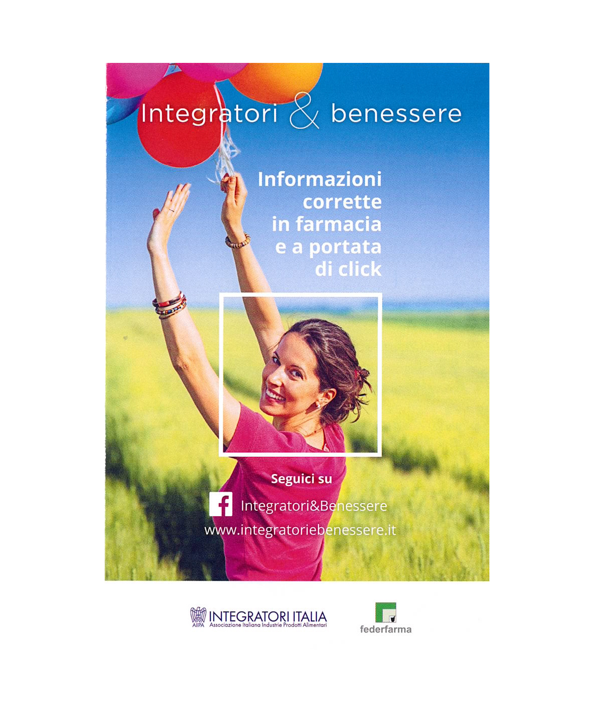 integratori in farmacia - folder