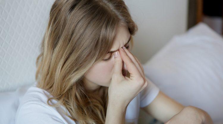 mal di testa da congestione nasale