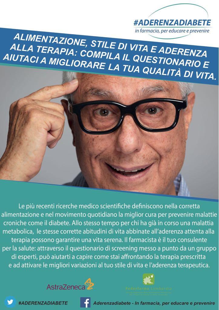 #aderenzadiabete