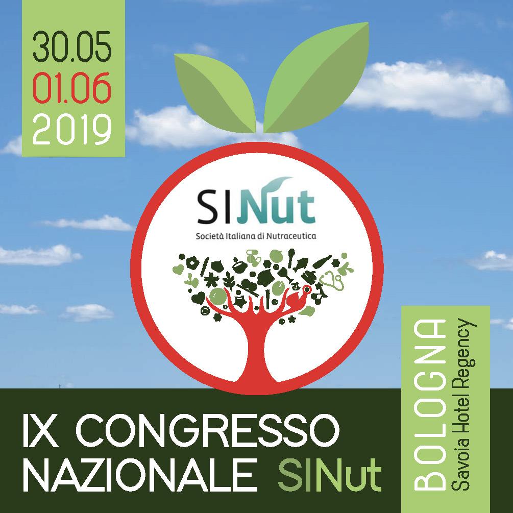 IX Congresso nazionale della Società italiana di nutraceutica